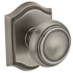 Baldwin HD.TRA.TAR Reserve Traditional Single Dummy Knob with Traditional Arch Rosette