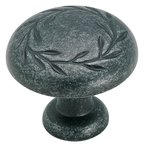 """Amerock BP1581WID Wrought Iron Dark 1 1/4"""" Knob from the Inspirations Collection product"""