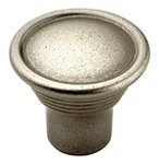 """Amerock BP24010AN Antique Nickel 1-3/16"""" Knob from the Vasari Collection product"""