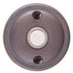 Emtek 2412 Lost Wax Cast Bronze Doorbell Button with #12 Rosette