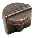 """Amerock BP4427RBZ Rustic Bronze 1 1/4"""" Knob from the Forgings Collection product"""