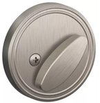 Dexter JD81 One-Sided Deadbolt with Exterior Plate
