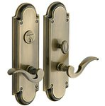 Baldwin 6951.DBLC Estate Stanford Double Cylinder Mortise Entry Set