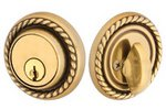 Emtek 8464 Solid Brass Rope Single Cylinder Deadbolt