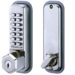 Codelocks CL210K Mechanical Keypad Deadbolt with Key Override