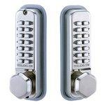 Codelocks CL290BB Back-to-Back Mechanical Keypad Deadbolt