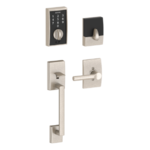 Schlage FE375 CEN/BRW LH Century Touch Screen Handleset with Broadway Lever for Left Handed Doors product