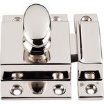 """Top Knobs M1784 Cabinet Latch 2"""" - Polished Nickel  from the Additions Collection"""