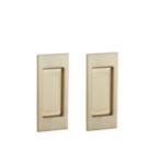 Baldwin PD006.FD Small Santa Monica Dummy Pocket Door Set product