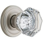 Baldwin Hardware Crystal and Glass Privacy Door Knobs