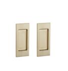 Baldwin Pd006 Priv Small Santa Monica Privacy Pocket Door