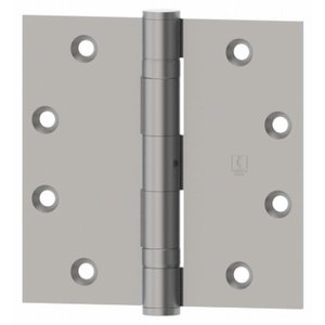 Hager BB1279 4.5 Inch x 4.5 Inch Ball Bearing Hinge with Square Corners (Sold Each)