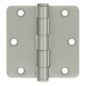 Don-Jo RPB7353514646 Residential 3.5 Inch x 3.5 Inch Hinge with 1/4 Inch Corners (Sold Each)