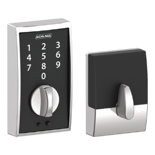 Schlage Be375 Cen Century Touch Screen Electronic Deadbolt