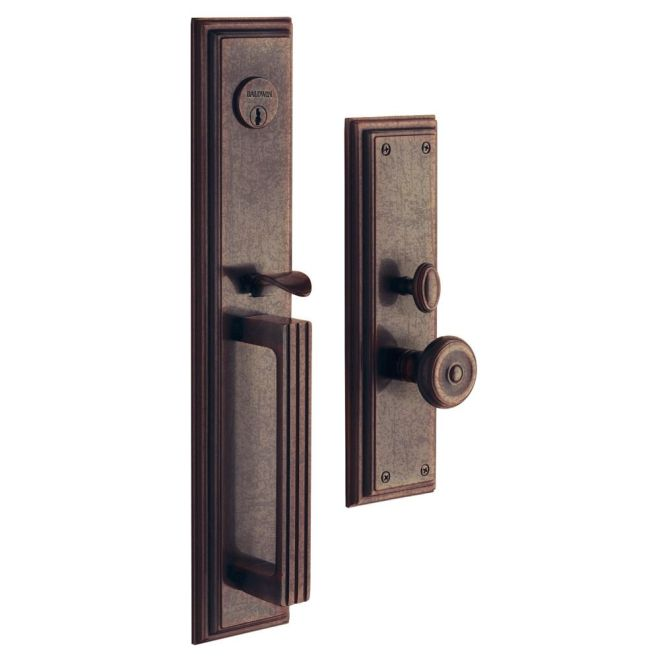 Baldwin 6542 Entr Estate Tremont Single Cylinder Mortise